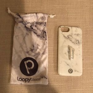 Marble Loopy iPhone 8 Case